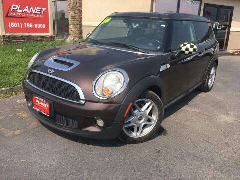 2010 MINI Cooper Clubman for sale at PLANET AUTO SALES in Lindon UT