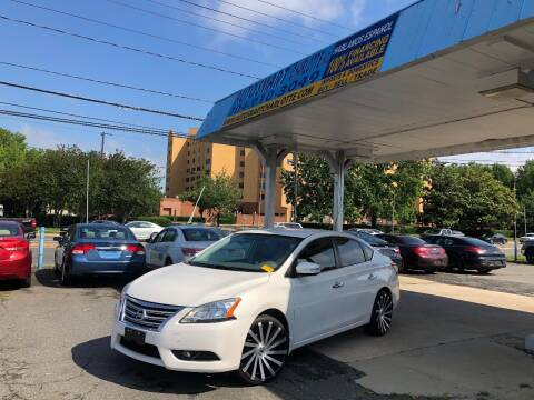 2013 Nissan Sentra for sale at Auto Smart Charlotte in Charlotte NC