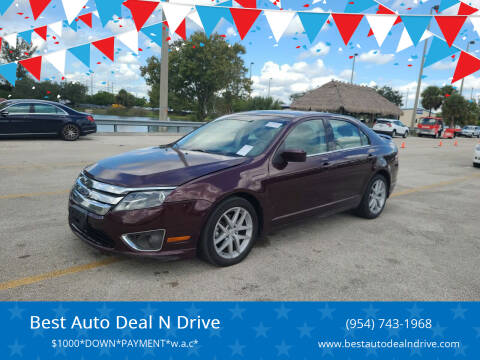 2011 Ford Fusion for sale at Best Auto Deal N Drive in Hollywood FL