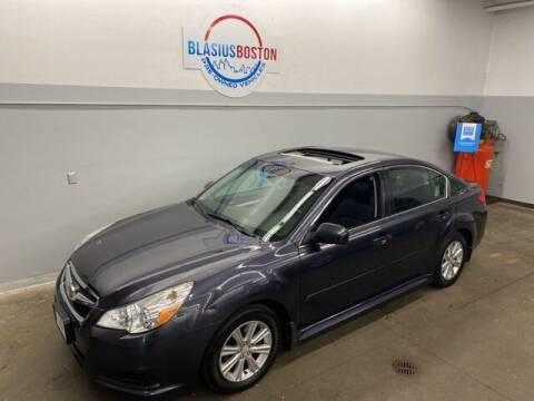 2012 Subaru Legacy for sale at WCG Enterprises in Holliston MA