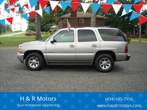 2003 GMC Yukon XL for sale at H & R Motors in Danville VA
