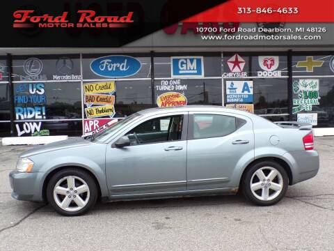 2008 Dodge Avenger for sale at Ford Road Motor Sales in Dearborn MI