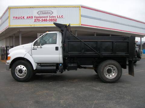 2012 Ford F750XL Dump Truck for sale at Classics Truck and Equipment Sales in Cadiz KY