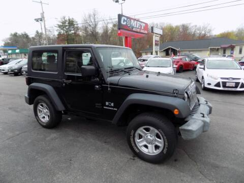 2009 Jeep Wrangler for sale at Comet Auto Sales in Manchester NH