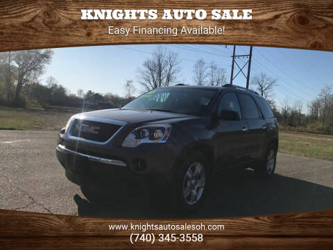 2010 GMC Acadia for sale at Knights Auto Sale in Newark OH