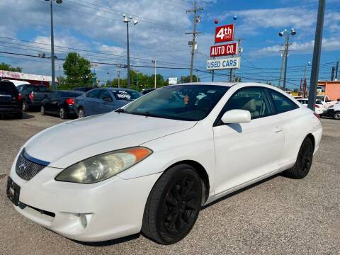 2005 Toyota Camry Solara for sale at 4th Street Auto in Louisville KY