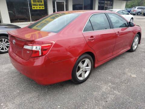 2014 Toyota Camry for sale at Best Buy Autos in Mobile AL