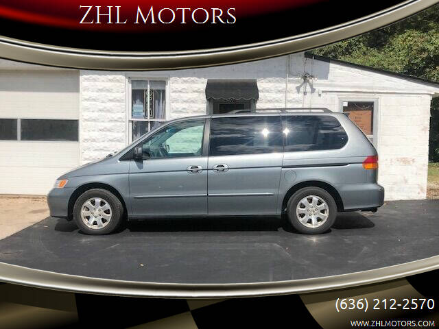 2002 Honda Odyssey for sale at ZHL Motors in House Springs MO