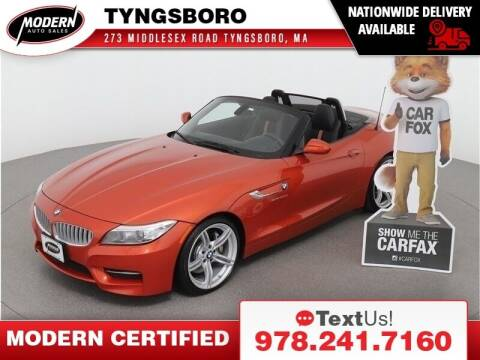 2015 BMW Z4 for sale at Modern Auto Sales in Tyngsboro MA