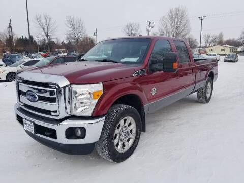 2016 Ford F-250 Super Duty for sale at ROSSTEN AUTO SALES in Grand Forks ND