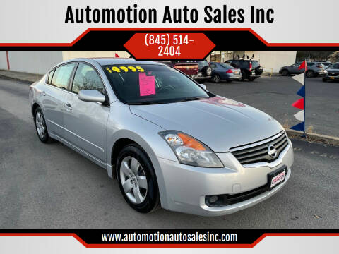 2008 Nissan Altima for sale at Automotion Auto Sales Inc in Kingston NY