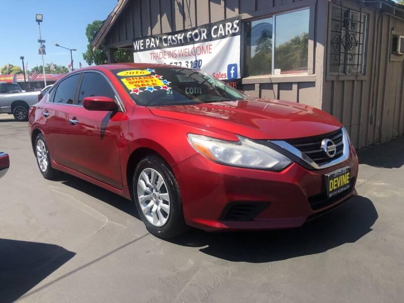 2016 Nissan Altima for sale at Devine Auto Sales in Modesto CA