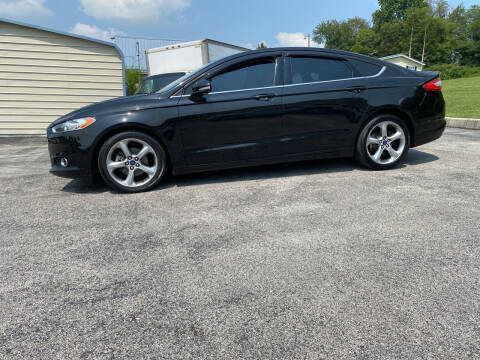 2014 Ford Fusion for sale at K & P Used Cars, Inc. in Philadelphia TN