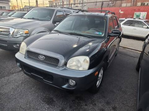 2004 Hyundai Santa Fe for sale at Rockland Auto Sales in Philadelphia PA