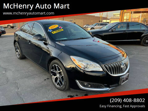 2017 Buick Regal for sale at McHenry Auto Mart in Turlock CA