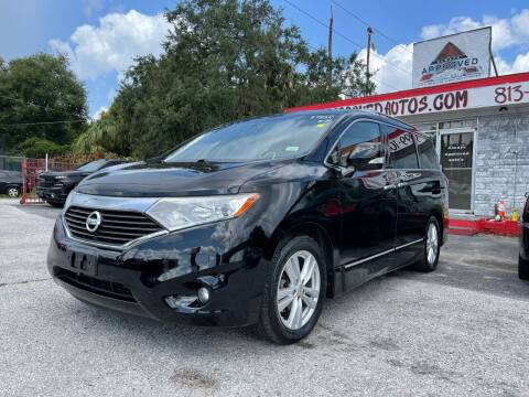 2012 Nissan Quest for sale at Always Approved Autos in Tampa FL