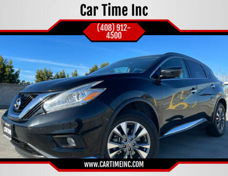 2017 Nissan Murano for sale at Car Time Inc in San Jose CA