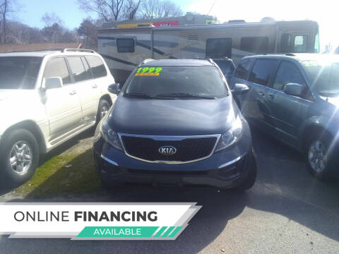2014 Kia Sportage for sale at Marino's Auto Sales in Laurel DE