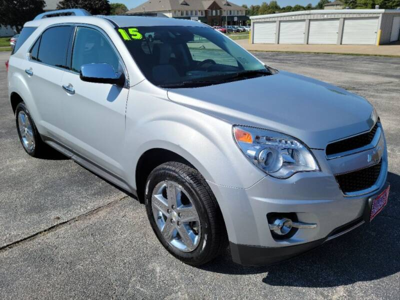 2015 Chevrolet Equinox for sale at Cooley Auto Sales in North Liberty IA