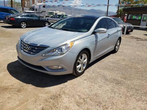 2013 Hyundai Sonata for sale at Bickham Used Cars in Alamogordo NM