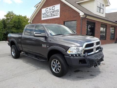2015 RAM Ram Pickup 2500 for sale at C & C MOTORS in Chattanooga TN