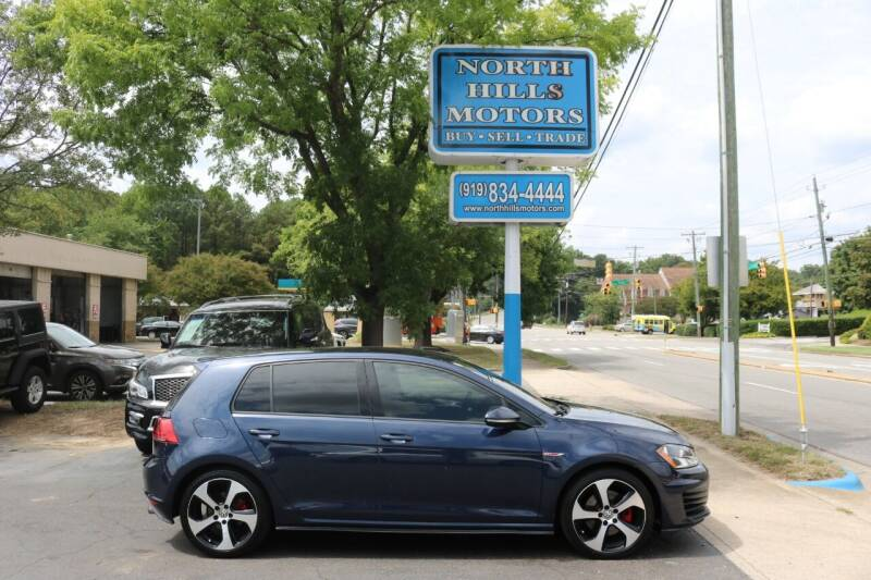 2016 Volkswagen Golf GTI for sale at North Hills Motors in Raleigh NC