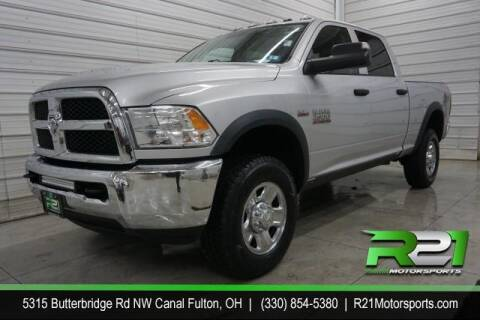2017 RAM Ram Pickup 2500 for sale at Route 21 Auto Sales in Canal Fulton OH