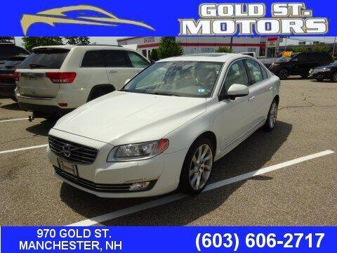 2015 Volvo S80 for sale at Gold St. Motors in Manchester NH