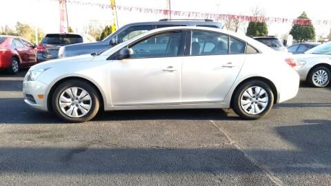 2014 Chevrolet Cruze for sale at ABC Auto Sales and Service in New Castle DE