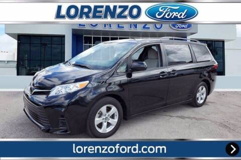 2020 Toyota Sienna for sale at Lorenzo Ford in Homestead FL