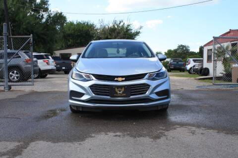2017 Chevrolet Cruze for sale at Fabela's Auto Sales Inc. in Dickinson TX
