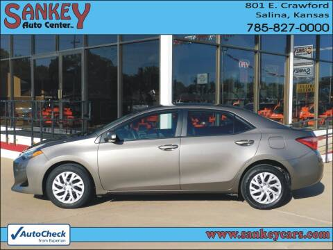 2018 Toyota Corolla for sale at Sankey Auto Center, Inc in Salina KS