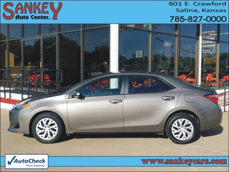 2018 Toyota Corolla for sale at Sankey Auto Center, Inc in Salina KS