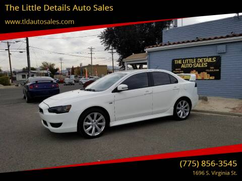 2015 Mitsubishi Lancer for sale at The Little Details Auto Sales in Reno NV