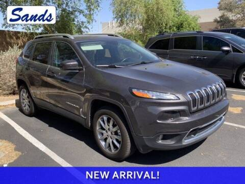 2017 Jeep Cherokee for sale at Sands Chevrolet in Surprise AZ