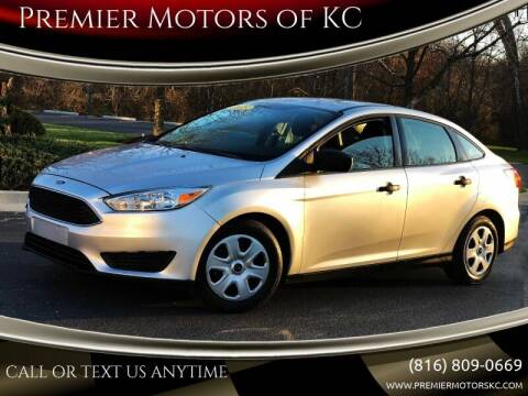 2015 Ford Focus for sale at Premier Motors of KC in Kansas City MO