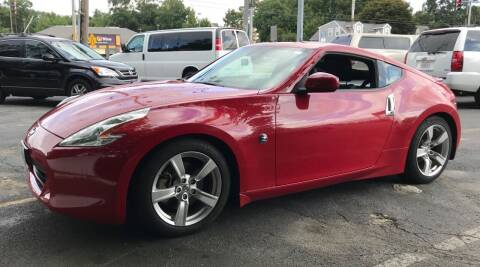 2011 Nissan 370Z for sale at BORGES AUTO CENTER, INC. in Taunton MA