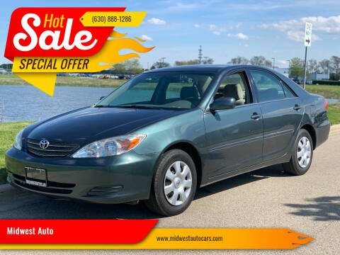 2002 Toyota Camry for sale at Midwest Auto in Naperville IL