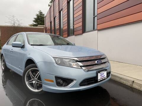 2011 Ford Fusion Hybrid for sale at DAILY DEALS AUTO SALES in Seattle WA
