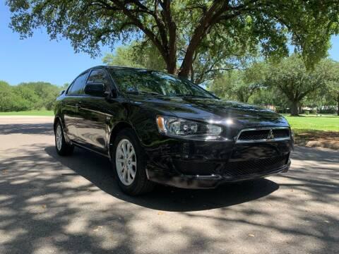 2013 Mitsubishi Lancer for sale at 210 Auto Center in San Antonio TX