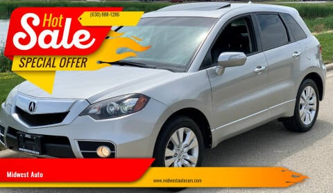 2010 Acura RDX for sale at Midwest Auto in Naperville IL