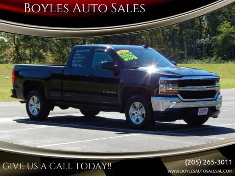 2018 Chevrolet Silverado 1500 for sale at Boyles Auto Sales in Jasper AL