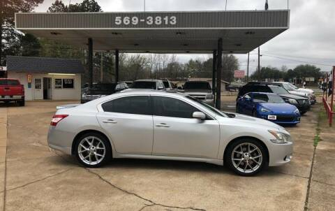 2010 Nissan Maxima for sale at BOB SMITH AUTO SALES in Mineola TX
