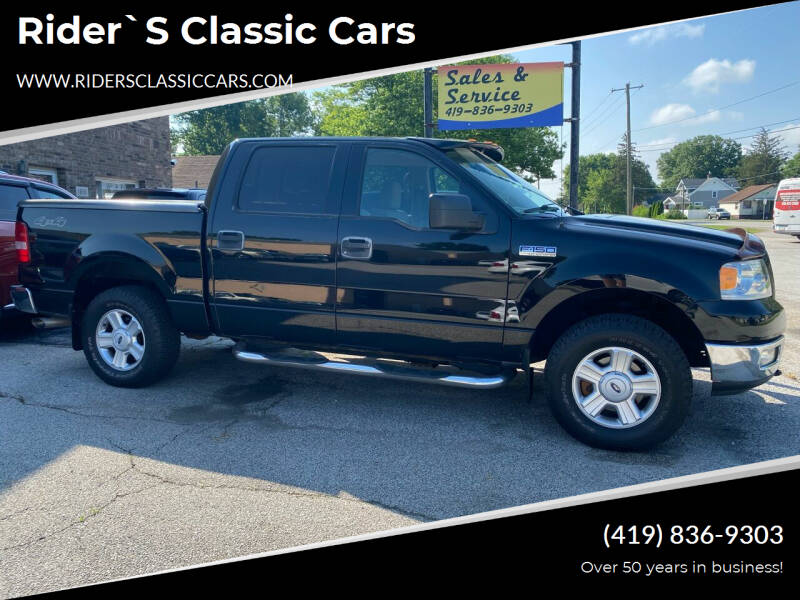 2004 Ford F-150 for sale at Rider`s Classic Cars in Millbury OH