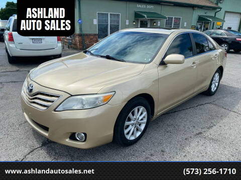 2011 Toyota Camry for sale at ASHLAND AUTO SALES in Columbia MO
