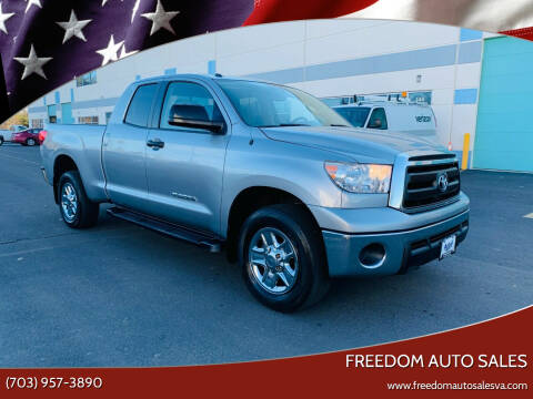 2011 Toyota Tundra for sale at Freedom Auto Sales in Chantilly VA