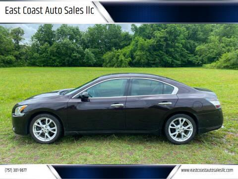 2013 Nissan Maxima for sale at East Coast Auto Sales llc in Virginia Beach VA