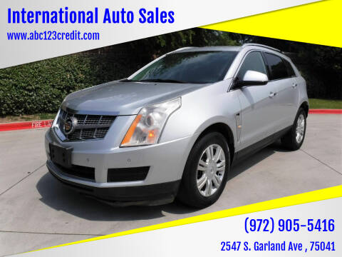 2012 Cadillac SRX for sale at International Auto Sales in Garland TX