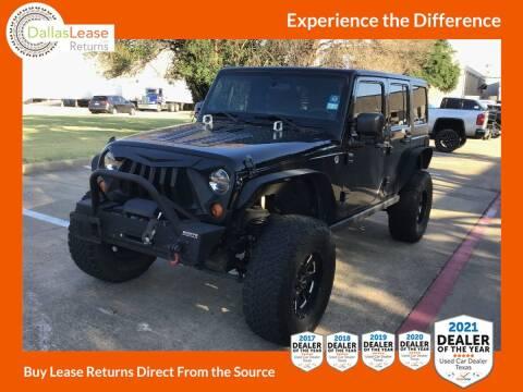 2011 Jeep Wrangler Unlimited for sale at Dallas Auto Finance in Dallas TX