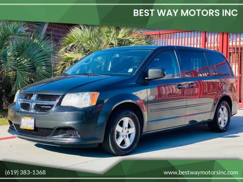 2011 Dodge Grand Caravan for sale at BEST WAY MOTORS INC in San Diego CA